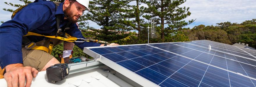 réaliser des économies d'énergie  panneaux solaires